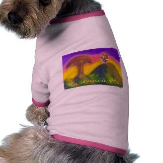 Boleto a un mundo de fantasía camisetas mascota