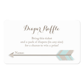 Boleto azul y gris de la fiesta de bienvenida al tarjetas de visita