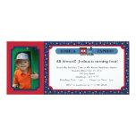 Boleto de tren de la foto - rojo y azul comunicado personal