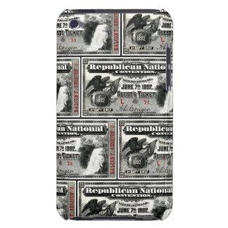 Boleto del convenio republicano 1892 iPod touch coberturas