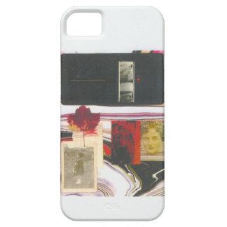 Boleto del vintage y caja de la hoja iPhone 5 fundas