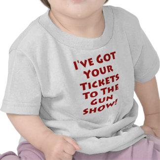 ¡Boletos a la demostración de arma! Camiseta