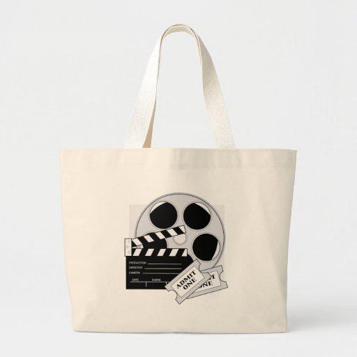Boletos de la película bolsas de mano