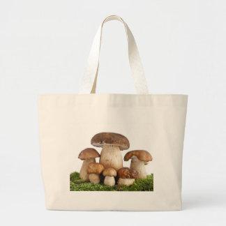 Boletus Edulis mushrooms Large Tote Bag