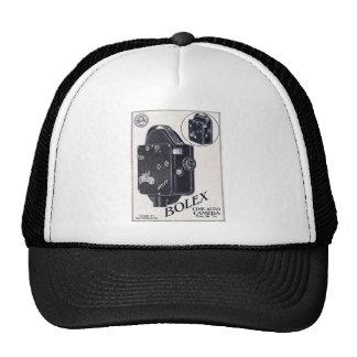 Bolex 16mm black trucker hat