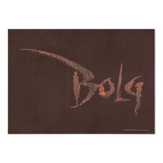 Bolg Name Card