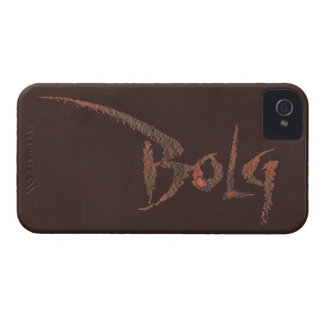 Bolg Name iPhone 4 Case