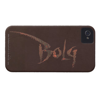 Bolg Name iPhone 4 Cover