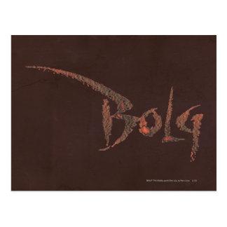 Bolg Name Postcard