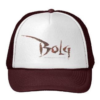 Bolg Name Trucker Hat