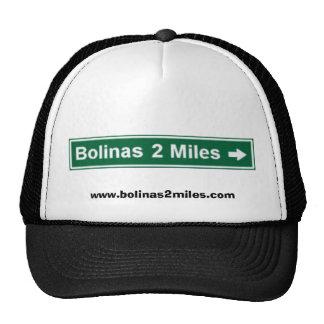 Bolinas 2 millas de casquillo de los camioneros gorra