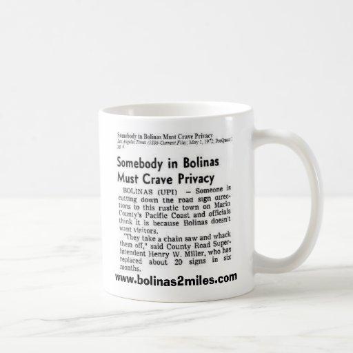 Bolinas 2 millas de taza de café 2