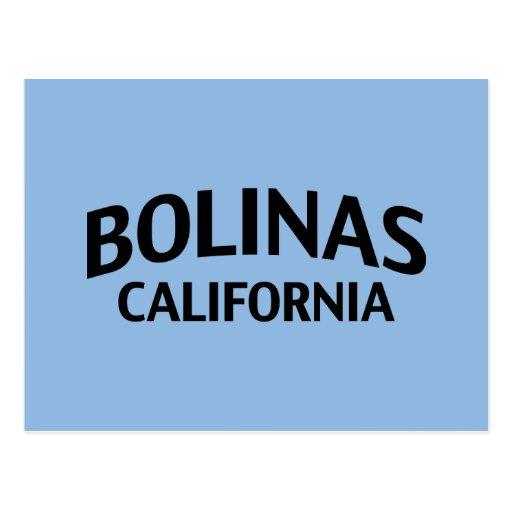 Bolinas California Postcard
