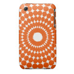 Bolinhas laranjas capas iPhone 3