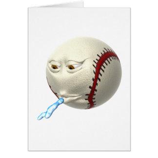 Bolita de papel mascado felicitación