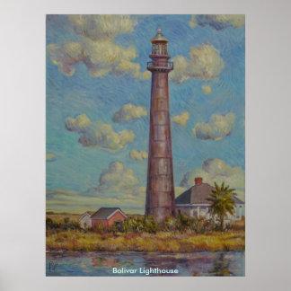 Bolivar Lighthouse Poster