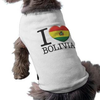 Bolivia 2 dog t-shirt