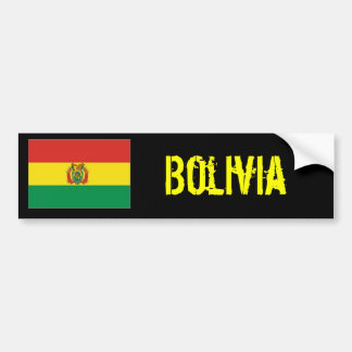 Bolivia bumber sticker