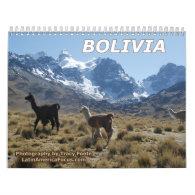 Bolivia Calendar 2016 - Snow Mountain Calendar