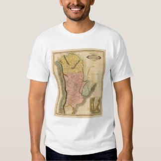 Bolivia, chile, provincias unidas camisas