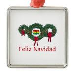 Bolivia Christmas 2 Christmas Ornament