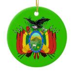 BOLIVIA Christmas Ornament