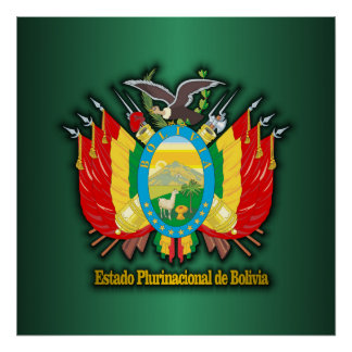 Bolivia COA Poster