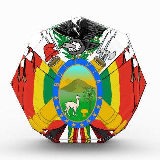 Bolivia Coat of Arms Acrylic Award