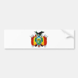 Bolivia Coat of arms BO Car Bumper Sticker