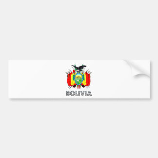Bolivia Coat of Arms Car Bumper Sticker