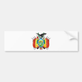 Bolivia Coat Of Arms Bumper Stickers
