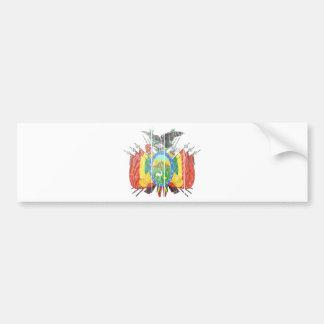 Bolivia Coat Of Arms Bumper Sticker