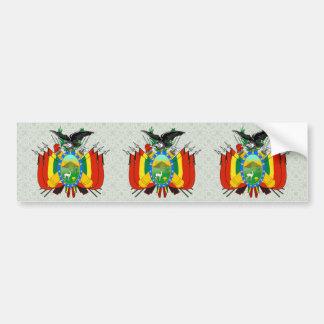 Bolivia Coat of Arms detail Car Bumper Sticker