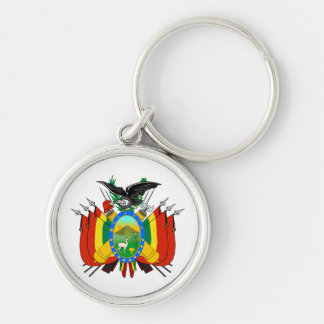 Bolivia Coat of Arms Keychain