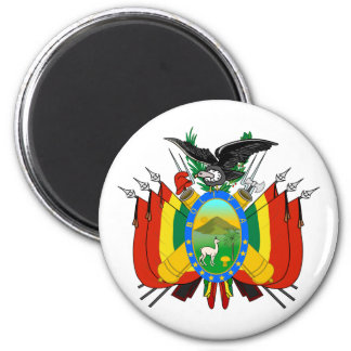 Bolivia Coat of Arms Magnet