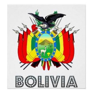 Bolivia Coat of Arms Poster