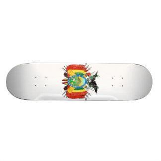 Bolivia Coat Of Arms Skate Boards