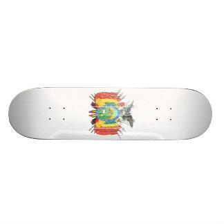 Bolivia Coat Of Arms Skate Deck