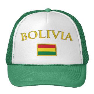 Bolivia de oro gorro de camionero