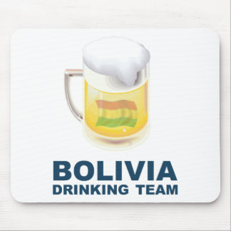 Bolivia Drinking Team Mouse Pad