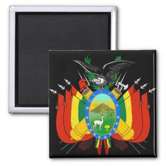 bolivia emblem fridge magnet