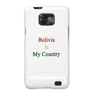 Bolivia es mi país samsung galaxy SII carcasas