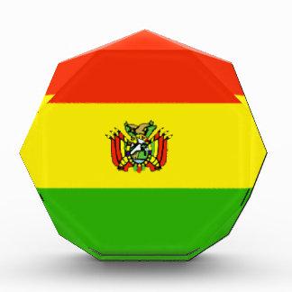 Bolivia Flag Award