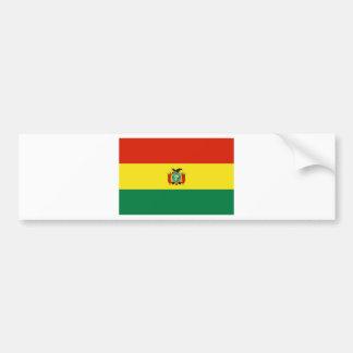 Bolivia Flag BO Car Bumper Sticker