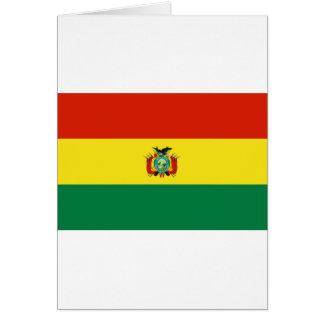 Bolivia Flag BO Greeting Cards
