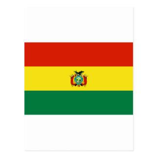 Bolivia Flag BO Post Card