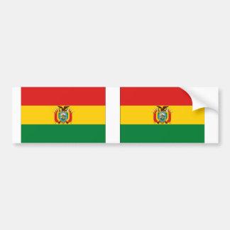 Bolivia Flag Bumper Stickers