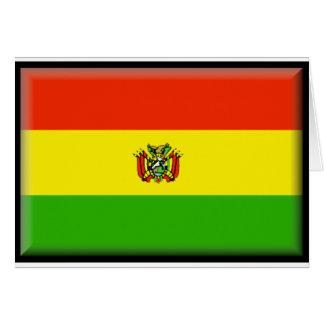 Bolivia Flag Greeting Cards