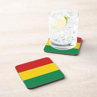 Bolivia Flag Coaster