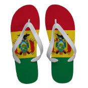 Bolivia Flag Flip-Flops